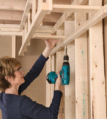 Build Interior Soffit by Building A Soffit Framing Basics Drywall Installation Repair Tips Diy Advice
