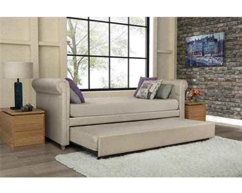 Daybed Sofa With Trundle by Day Bed Leatherette Upholstered Sofa Daybed W