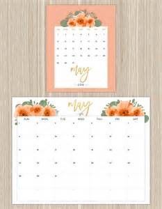 Calendar 2018 Printable Floral Printable Calendars For A More Floral 2016 Fresh By Ftd