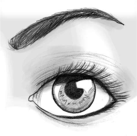 imagenes de ojos en dibujo tutorial de dibujo ojo semi realista propio taringa