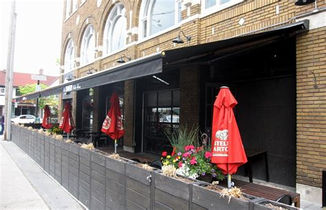 commercial awnings toronto the kennedy house rolltec 174 retractable awnings toronto