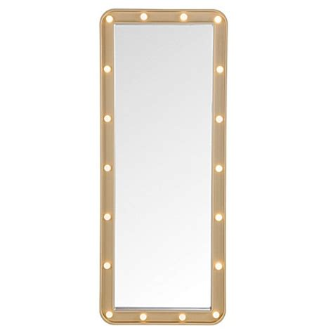 bed bath and beyond mirror with lights door solutions led light up the door marquee mirror