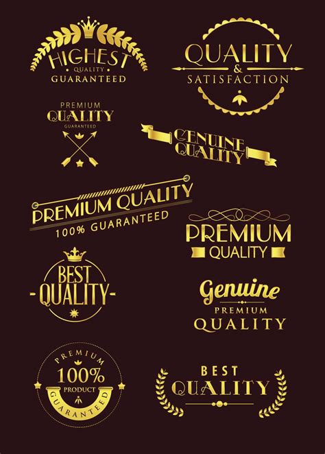 luxury typography logo vector free download