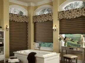 Bathroom Valances Ideas by Door Windows Brown Window Treatment Valances Ideas For