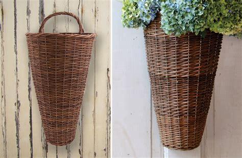 Door Basket by Willow Door Basket Door Decorations Front Door Basket