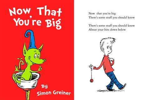 now that you mention it a novel books simon greiner s dr seuss style ed book now that