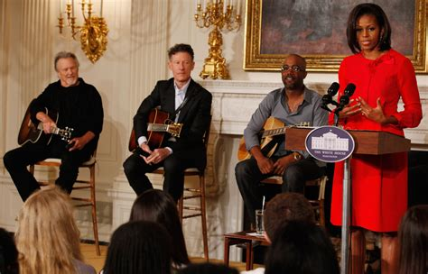 white house of music darius rucker and lyle lovett photos photos president and first lady hosts country