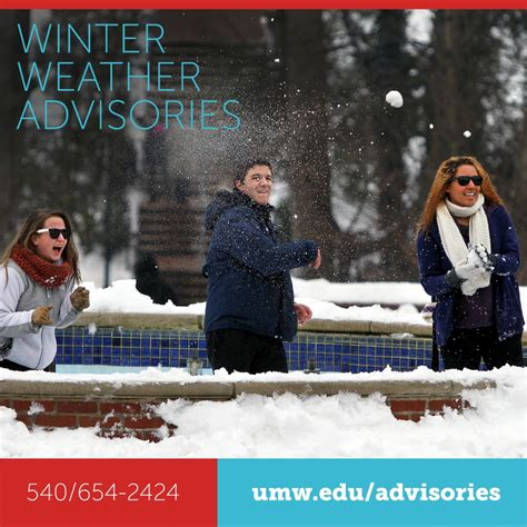 Umw Mba by Umw S Winter Weather Advisory Sources Eagleeye