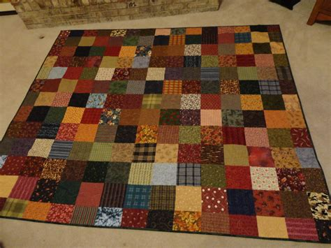 Flannel Quilt Pattern by Flannel Square Quilt Wandalandquilts