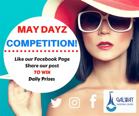 Todays Giveaway - may dayz daily giveaway galway shopping centre