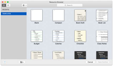 omnioutliner 5 pro reference manual for macos using the