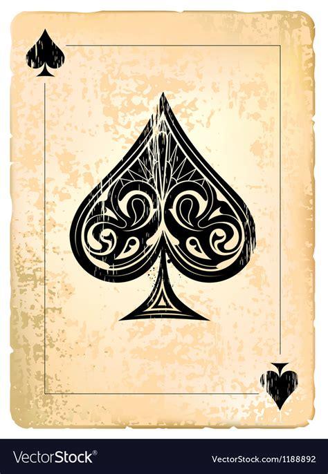 ace of spades royalty free vector image vectorstock