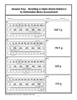 Measuring Mass Beam Balance Worksheet by Beam Balance Worksheets Casademateo