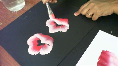 watercolor tubes tutorial one stroke painting tutorial 8 how to paint half folded