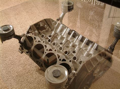 v8 engine coffee table flickr photo