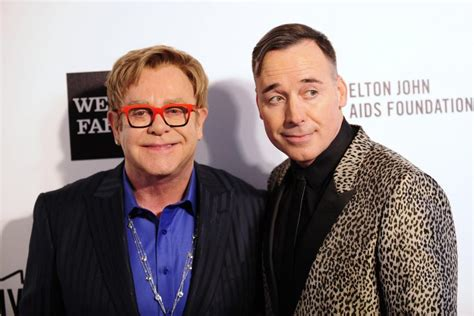 elton john and husband elton john marries partner david furnish shares photos on