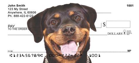 rottweiler specs rottweiler checks checks get bank checks