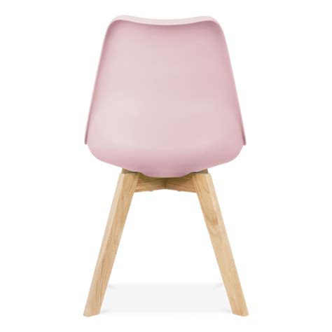 Pastel Dining Chairs Pastel Pink Dining Chair Oak Crossed Wood Legs Cult Furniture Uk