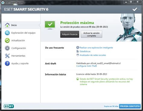 licencias nod32 3 4 5 6 7 8 funcionando siempre claves licencia nod32 antivirus 4 backuppm