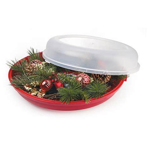 sterilite wreath storage containers view sterilite 174 24 quot wreath storage container deals at big lots