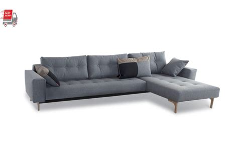Idun Deluxe Lounger Double Sofa Bed Innovation Living Sydney Lounger Sofa Bed