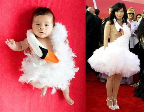 bjork swan dress diy 25 most adorable costumes roasted