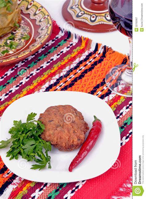 cuisine bulgare traditionnelle photographie stock libre de