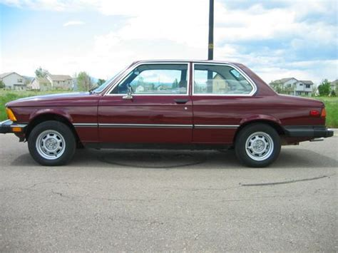 1977 bmw 320i sell used 1977 bmw 320i e21 320is in erie colorado