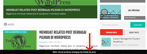 membuat footer wordpress membuat sticky floating fixed footer wordpress centerklik
