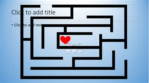 cara membuat powerpoint seperti game cara membuat game labirin maze dengan powerpoint notes