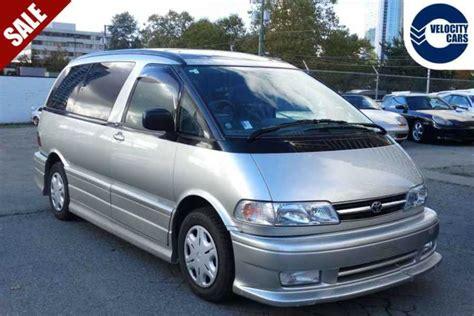 1999 Toyota Previa 1999 Toyota Previa Estima Burnaby Incl New Westminster