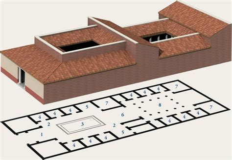 plan of a roman house etruscan roman study images art and art history 1 with bruck at university of dallas