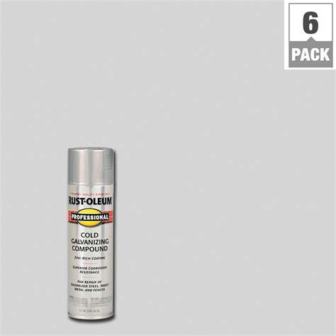 light grey spray paint rust oleum professional 20 oz flat gray cold galvanizing