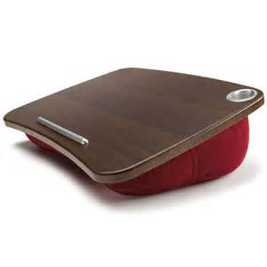cushioned laptop desk epad padded desk from brookstone