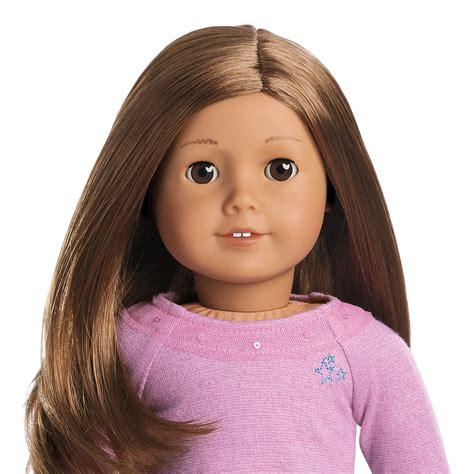 Medium Doll 8 american truly me doll brown medium skin and layered brown hair dolls baby