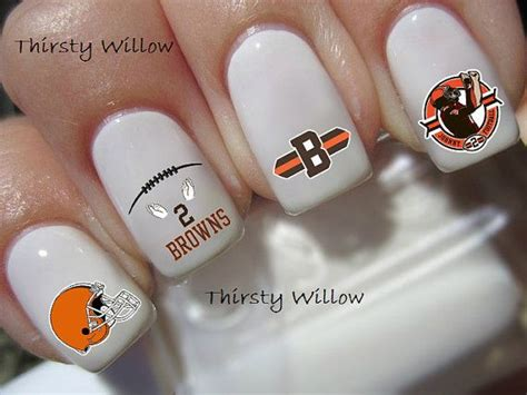 Manicure Pedicure Johnny Andrean johnny manziel cleveland browns nail decals by