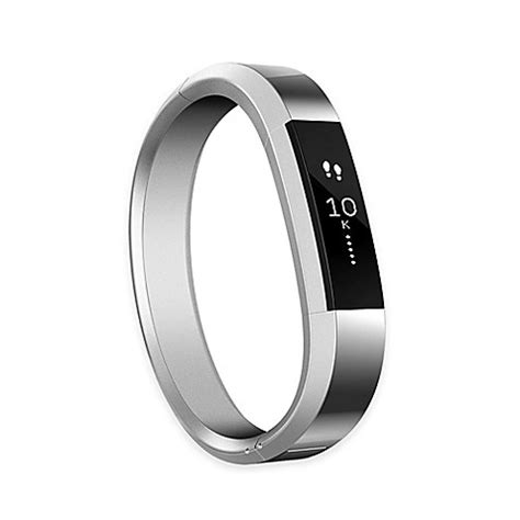 fitbit bed bath beyond fitbit 174 alta small metal accessory band in silver bed