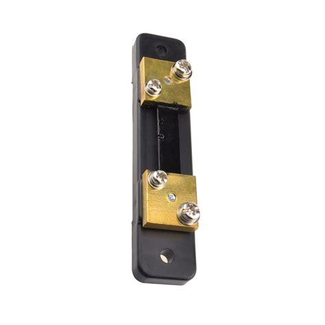 shunt resistor voltmeter fl 2 dc 75mv 50a shunt resistor for meter analog panel ammeter voltmeter mo ebay