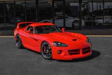 2009 dodge viper srt10 for sale