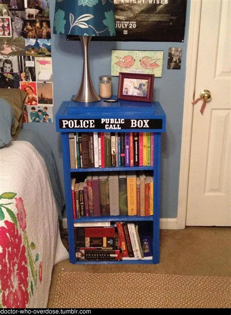 tardis bookcase book shelves and libraries