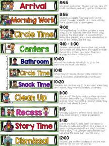 preschool schedule template sle half day preschool schedule plus tips for creating