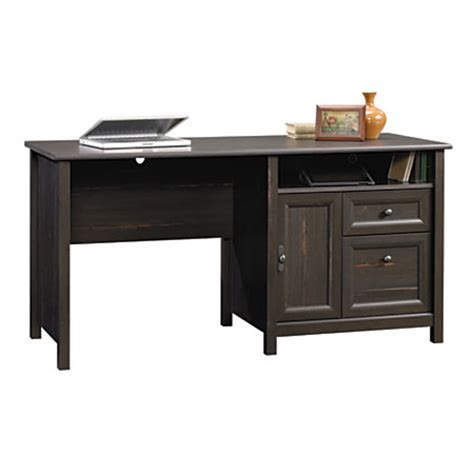 sauder computer desk antique paint by office depot officemax