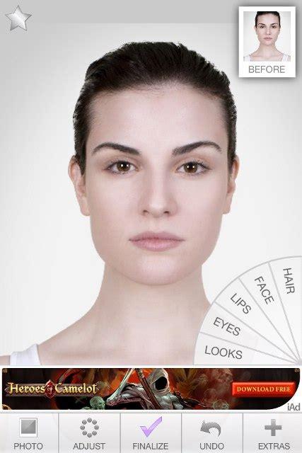 virtual hair color selector makeup app review enjoy a virtual makeover apppicker