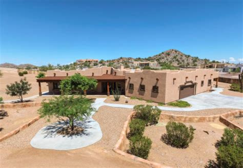 santa fe style home beautiful santa fe style home in queen creek arizona news