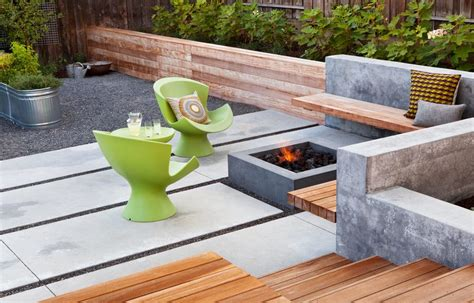 modern pits outdoor south africa concrete pit patio contemporary with