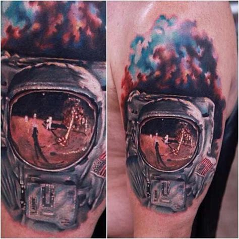 75 space inspired tattoos for people who are fascina