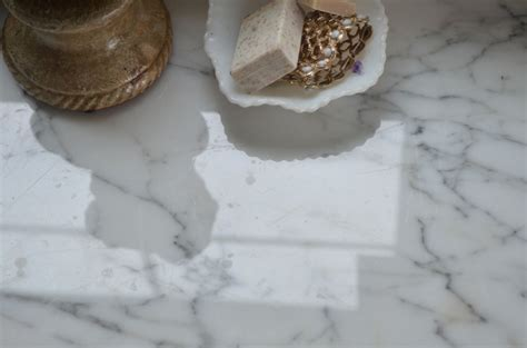 Do Marble Countertops Stain by Living With Marble Countertops A Cautionary Tale