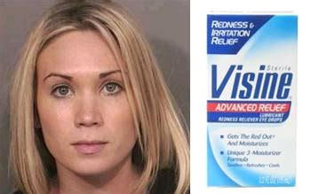 Wedding Crashers Eye Drops by Poisoned Housemate With Eye Drops Shown In