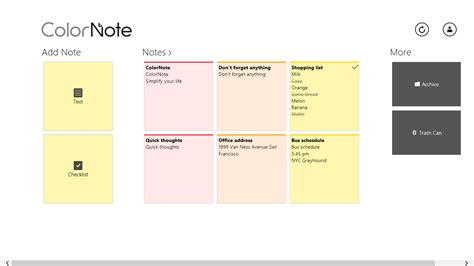 color note app colornote notepad notes for windows 10