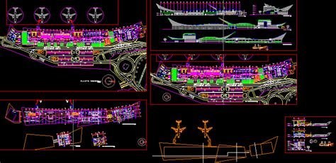 airport tara dwg section  autocad designs cad